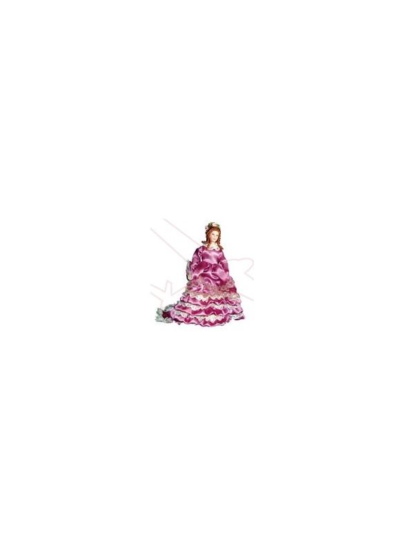 Señora Victoriana rosa