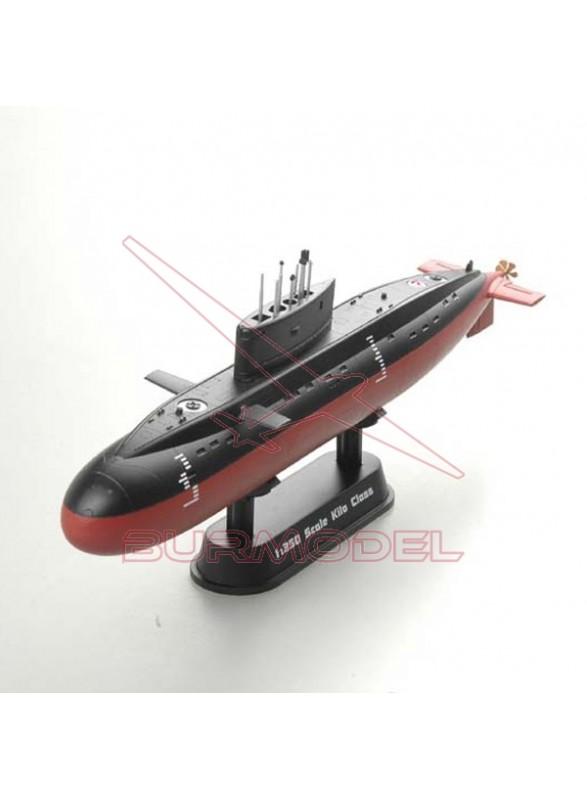Maqueta Submarino 1:350