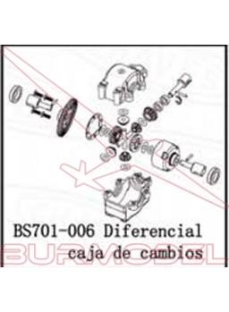 Diferencial completo con cambio BSD eléctrico