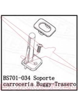 Soporte trasero carrocería BSD Racing eléctrico