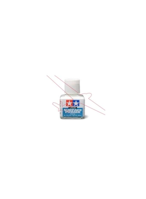 Imprimación blanca para aplicar con pincel Tamiya