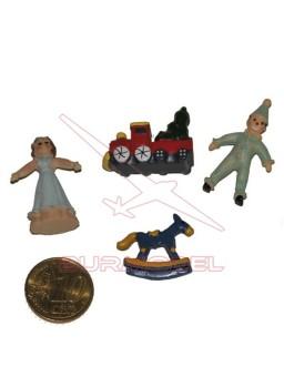 Juguetes para niños en miniatura 1:12