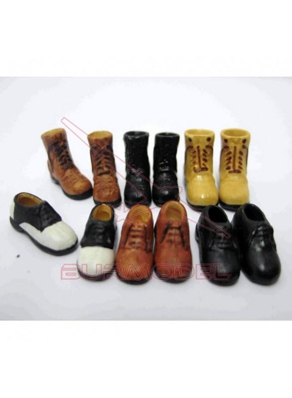 Par de zapatos hombre