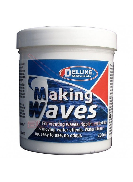 Making waves 250 ml. Efecto olas, agua.
