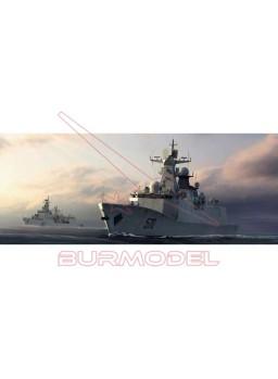 Maqueta barco PLA Navy Type 054A FFG 1/350