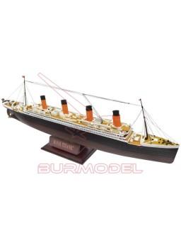 Maqueta Titanic 1:550 con stand
