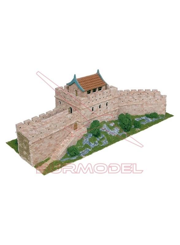 Construcción ladrillos de la Gran Muralla China