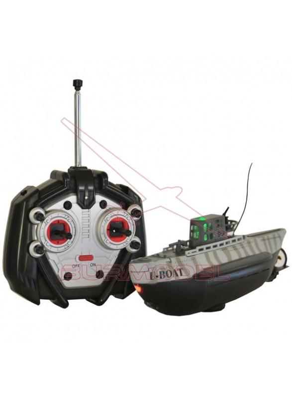 Mini submarino radio control E-Boat