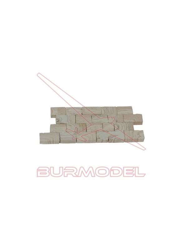 Piedra muro grande jaspeada