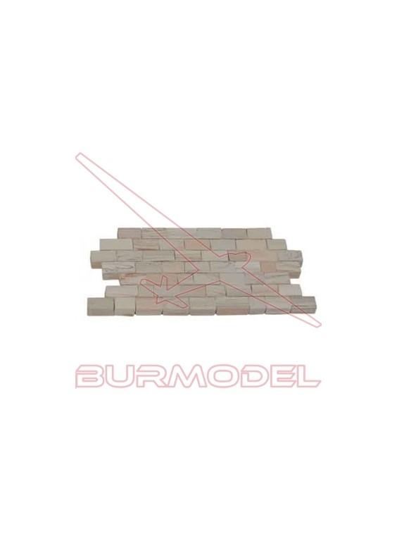 Piedra muro jaspeada (300 und)