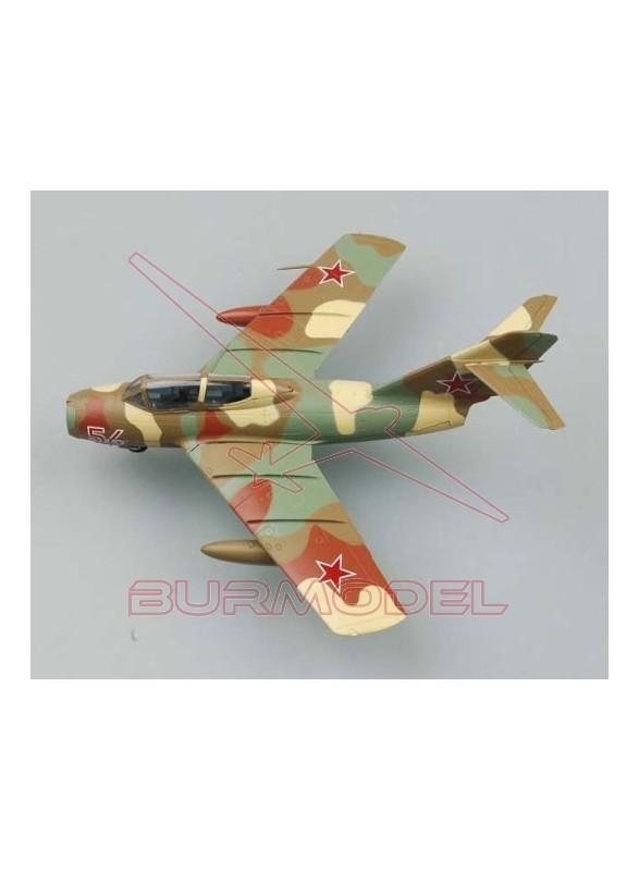 Maqueta avión MIG-15 UTI Red 54 of Russia 1:72