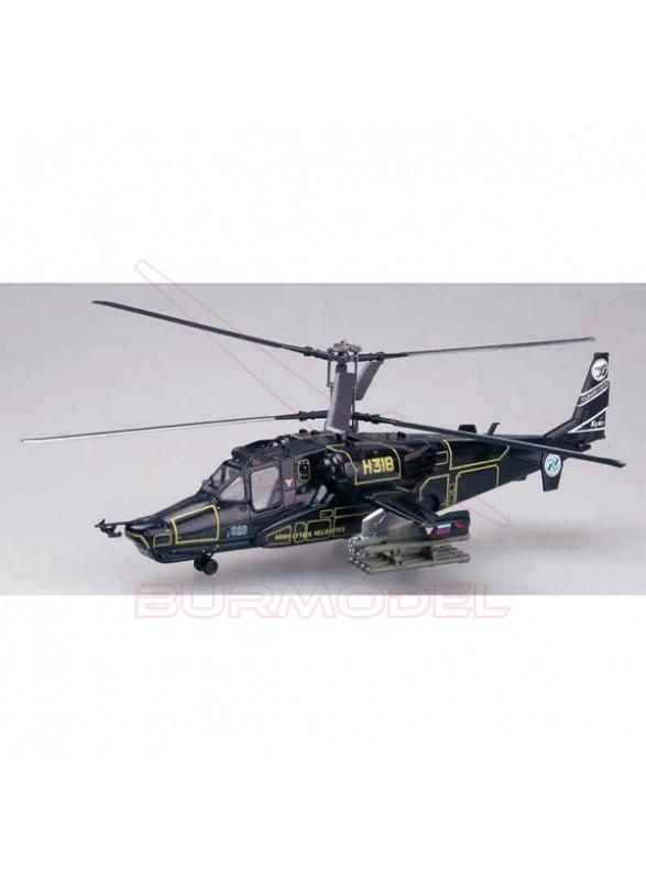 Maqueta montada. Helicóptero Kamov KA-50 1/72