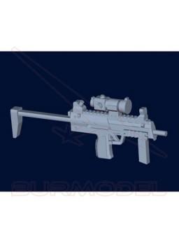 Maqueta armas alemanas MP7A1 (6 unidades) 1:35