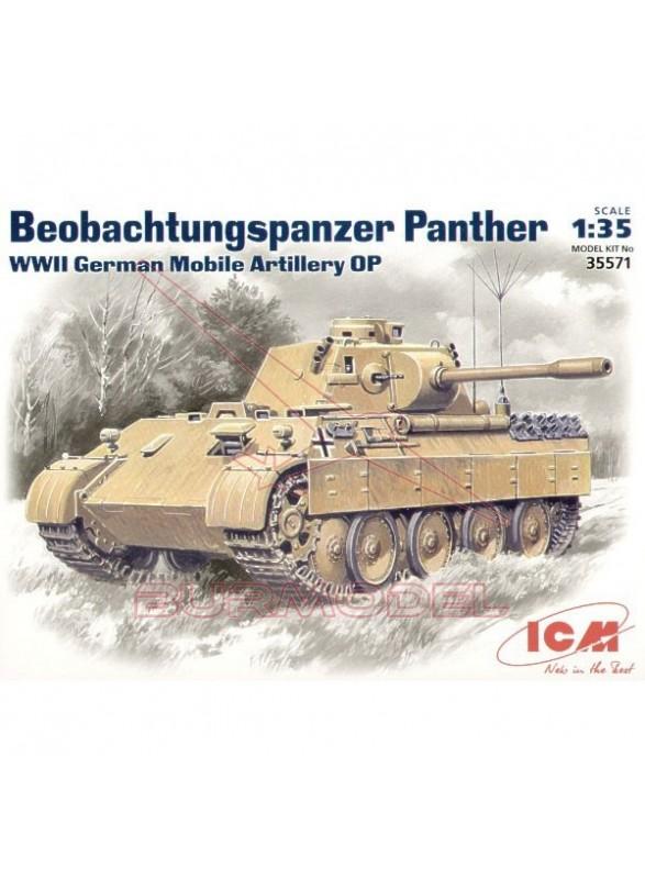 Maqueta tanque Beobachtungspanzer 1:35 2ª G.M.