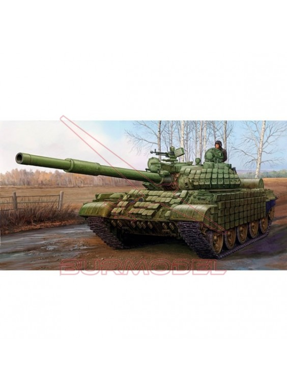 Maqueta tanque Russian T-62 ERA 1/35