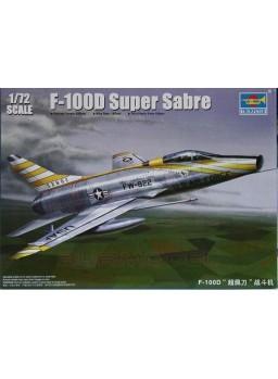 Maqueta avión F-100D Super Sabre