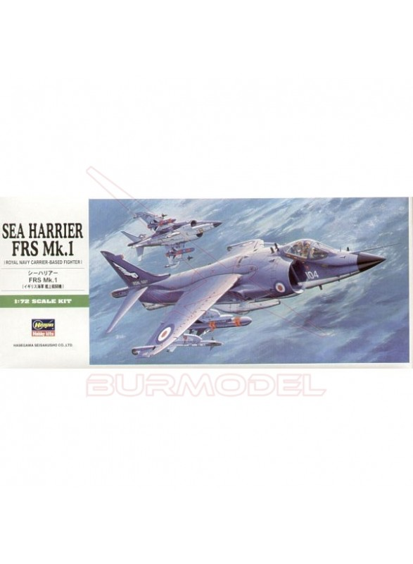 Maqueta avión Sea harrier FRS Mk.1 1:72