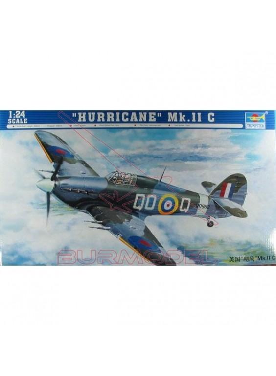 Maqueta avión Hurricane MKIIC 1:24