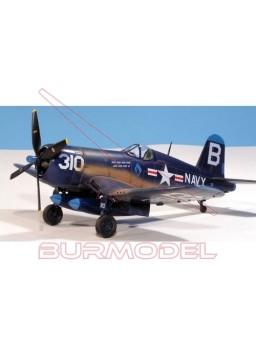 Maqueta avión F4U-4 Corsair 1.48