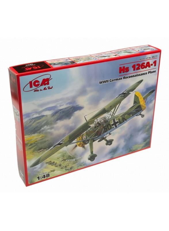 Maqueta avión Hs 126A-1 2ª G.M. 1:48