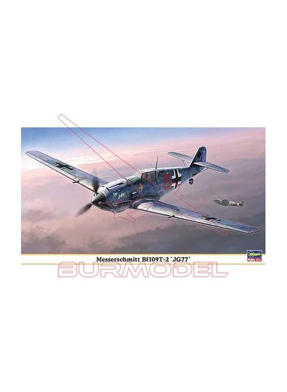 Maqueta avión Messerchmitt 109T-2 JG77 1:48