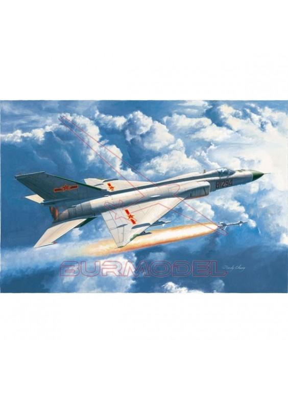 Maqueta avión Chinese J-8D Finback 1/48
