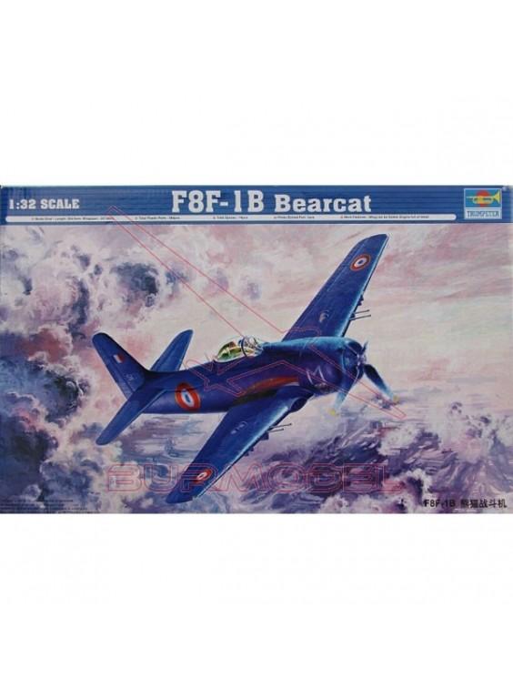 Maqueta avión Bearcat F8F-IB 1.32