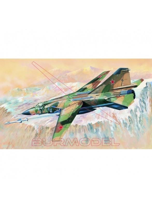 Maqueta avión MIG-23MLD 1:32