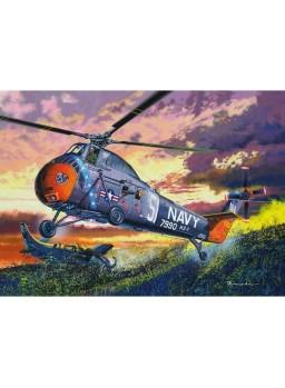 Maqueta helicóptero H-34 US Navy Recue 1/48