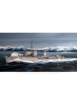Maqueta barco German Zerstorer 1:350