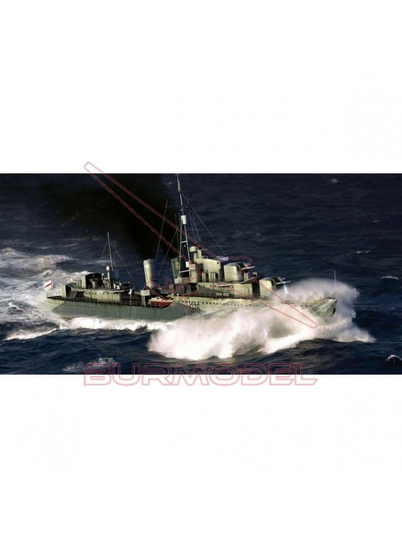 Maqueta barco HMS Eskimo Destroyer 1941 1/350