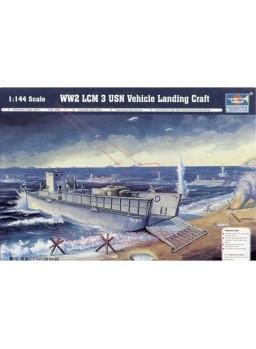 Maqueta barco WW2 LCM 3 USN 1/144