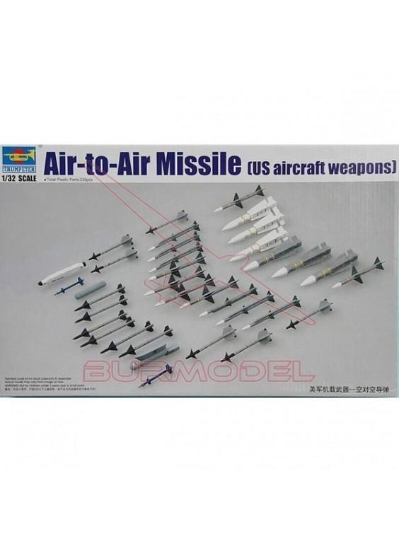 Maqueta misiles Air-to-Air 1:32