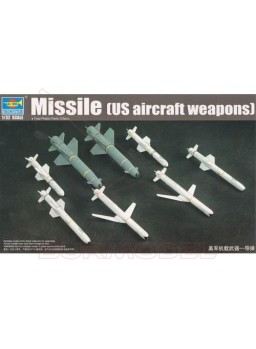 Maqueta weapon-missiles 1:32