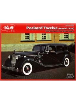 Maqueta coche Packard twelve 1936 WWII