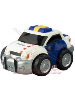 Coche juguete RC Policia 1/18