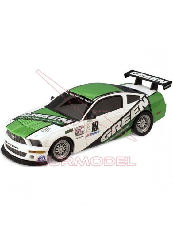 "Coche slot Ford Mustang ""Green"""