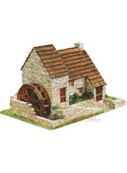 Kit de construcción Casita Rural con Molino
