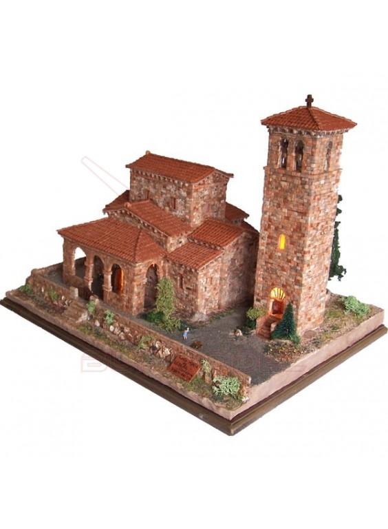 Kit de construcción Iglesia Santa maría de Lebeña