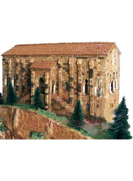 Kit de construcción Sta María del Naranco