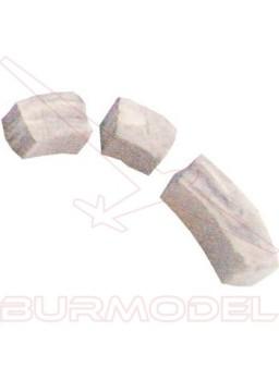 Ladrillo - piedra curva 6*6