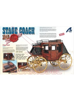 "Diligencia ""Stage Coach"" 1848"