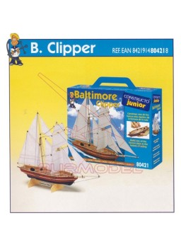 Barco Baltimore Clipper Constructo Junior