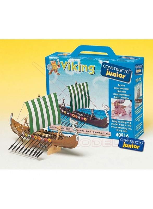Barco Viking Constructo Junior