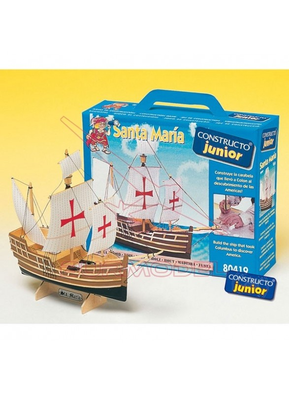 Barco Santa María Constructo Junior