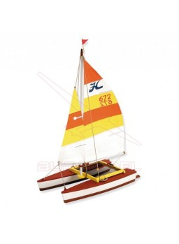 Hobie Cat easy junior con pinturas incluidas