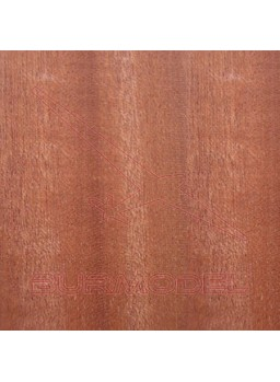 Paquete chapa de forro sapelly 0.6x8 mm (20 unid.)