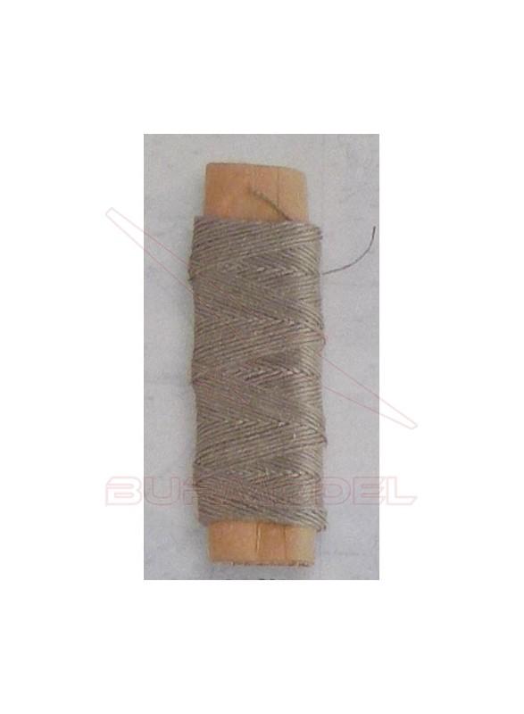 Hilo crudo de algodón 0,25 mm (30m)