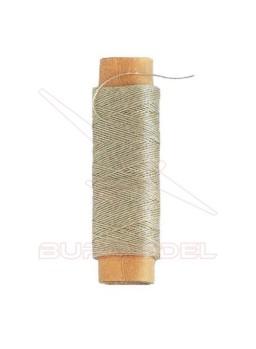 Hilo crudo de algodón 0.15 mm (40 m)