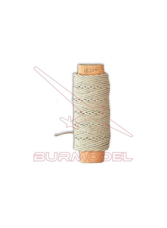 Hilo crudo de algodón 0.75 mm (10 m)
